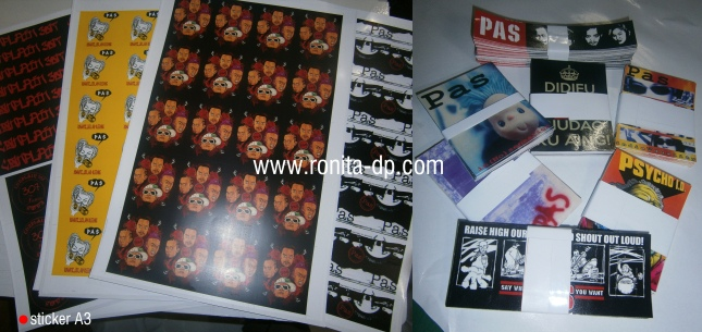 sticker A3 fujixerox