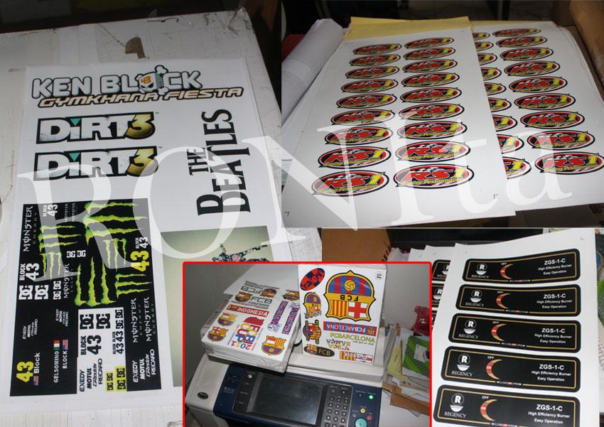 Sablon Digital, Sticker Digital dan Produk Kreatif Berbasis Digital