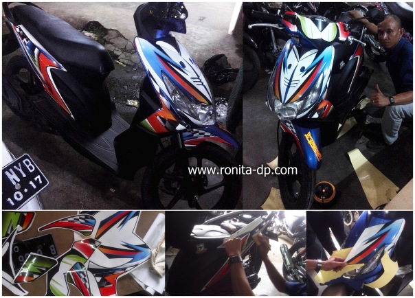 striping motor beat ronita dp