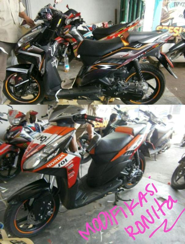 striping motor custom ronita dp