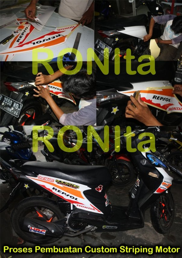 striping motr custom beat ronita dp