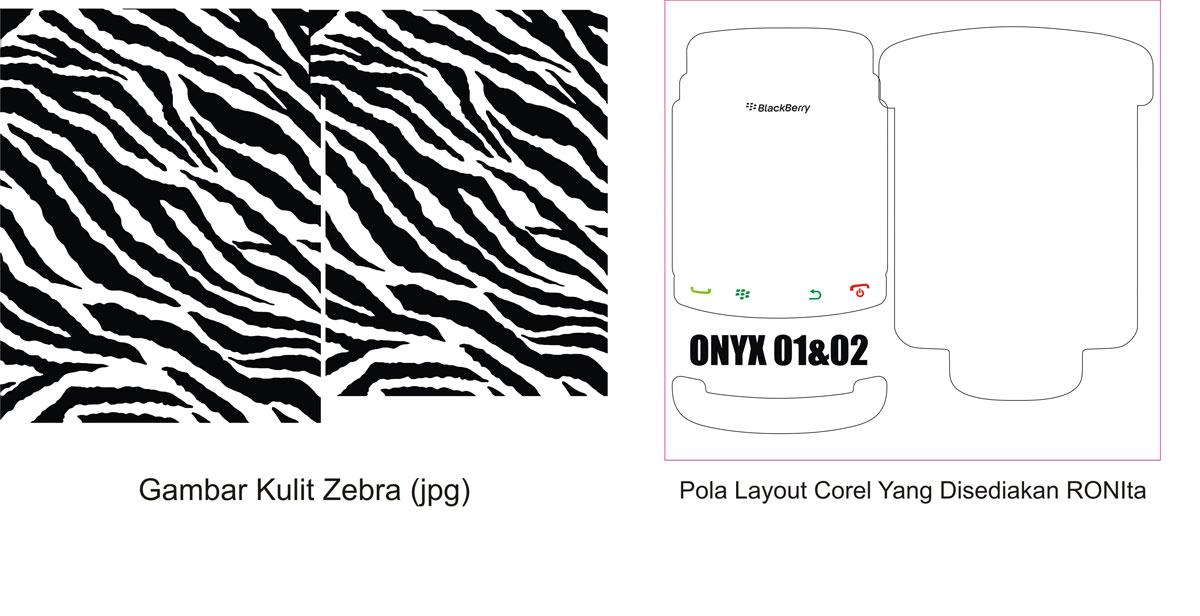 Rubahlah gambar kulit zebra jpg di atas menjadi vektor dengan