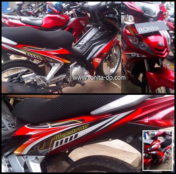striping motor, striping jupiter mx