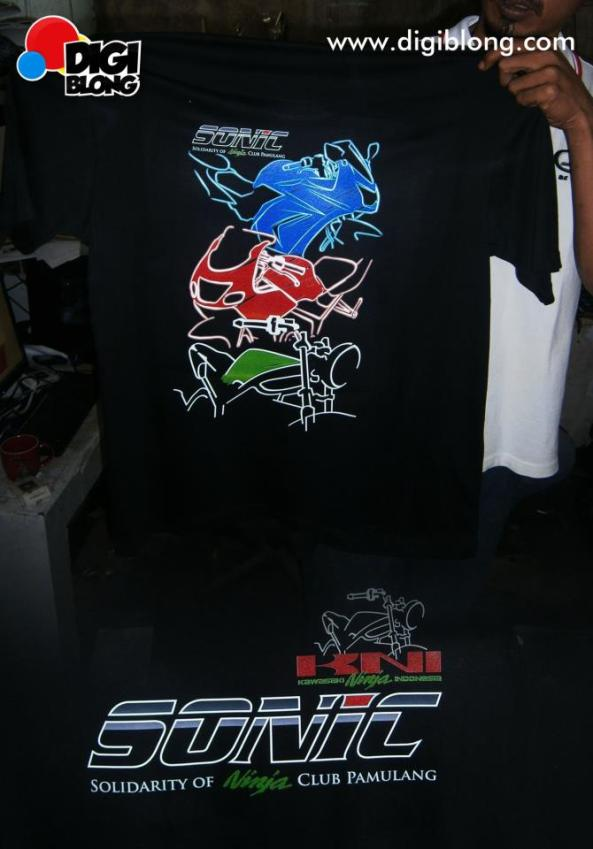 kaos motor ninja 3