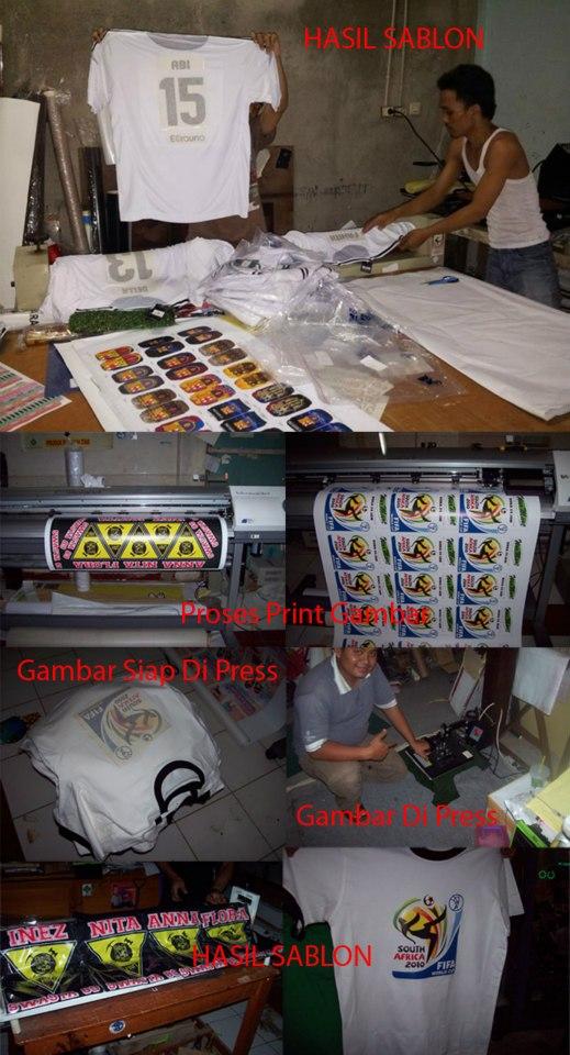 Contoh Proses Sablon Kaos Berbasis Transfer Paper