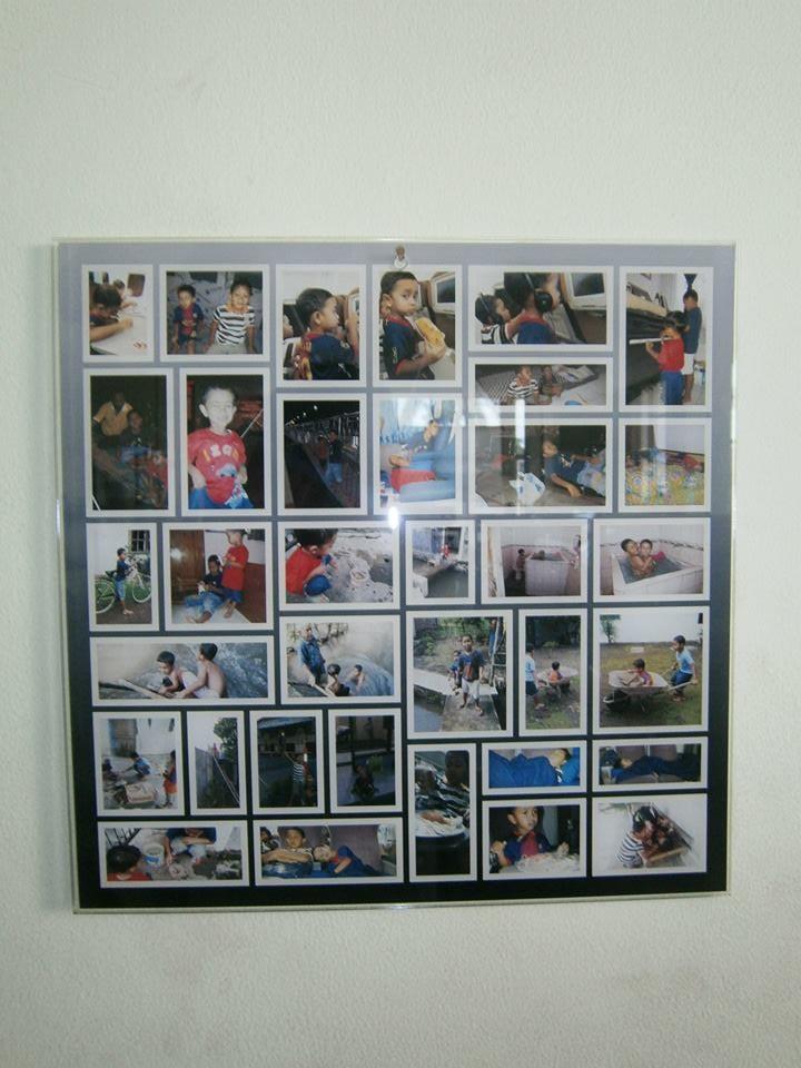 Membuat photo kolase di bahan acrylic | RONIta Digital ...