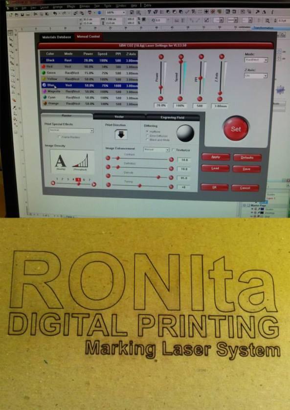 marking laser ronita