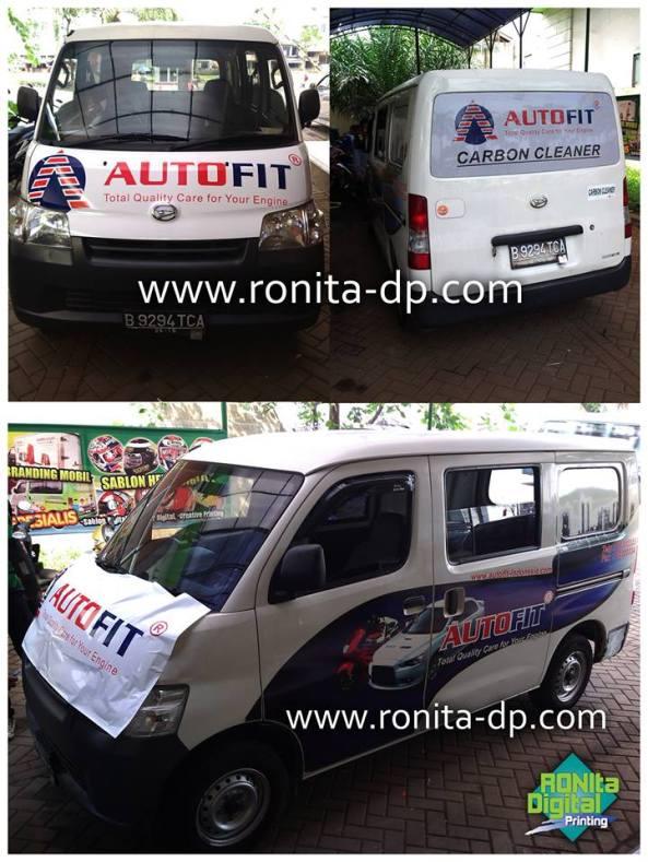 branding mobil ronita di bsd