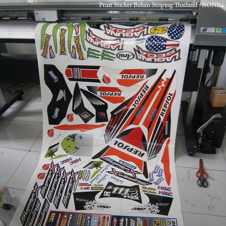 Begini caranya nge print murah striping thailand di rds ronita