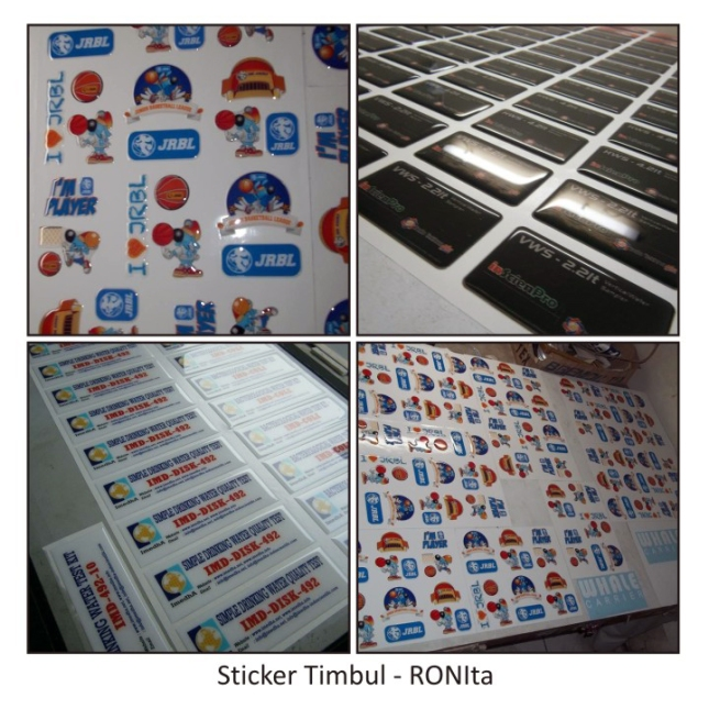 sticker-timbul
