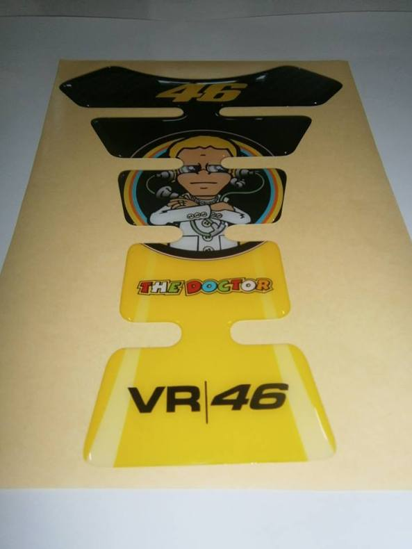 sticker tankpad rossi