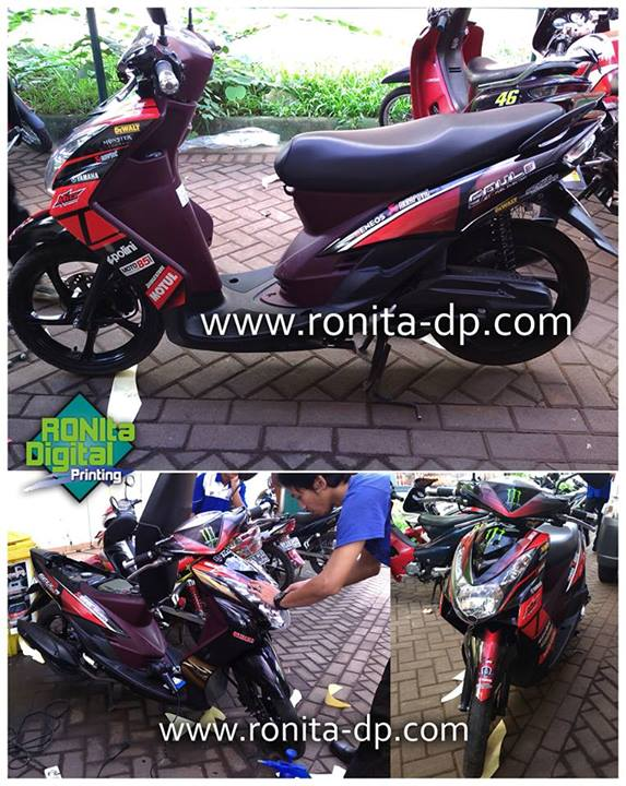 striping motor modifikasi ronita2