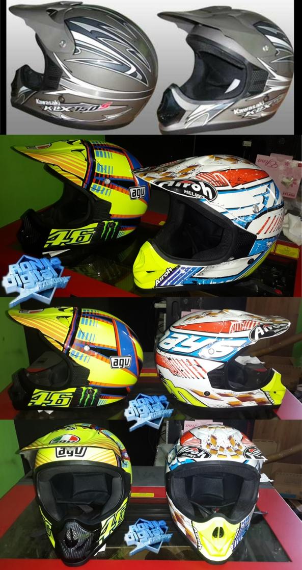 modifikasi-helm-kawasaki-klx-150-secara-digital