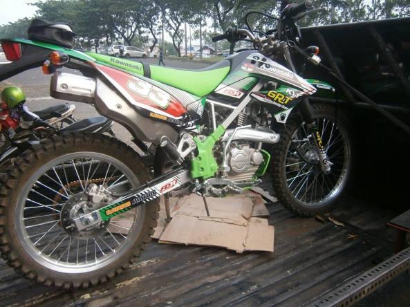striping kawasaki klx 150 2