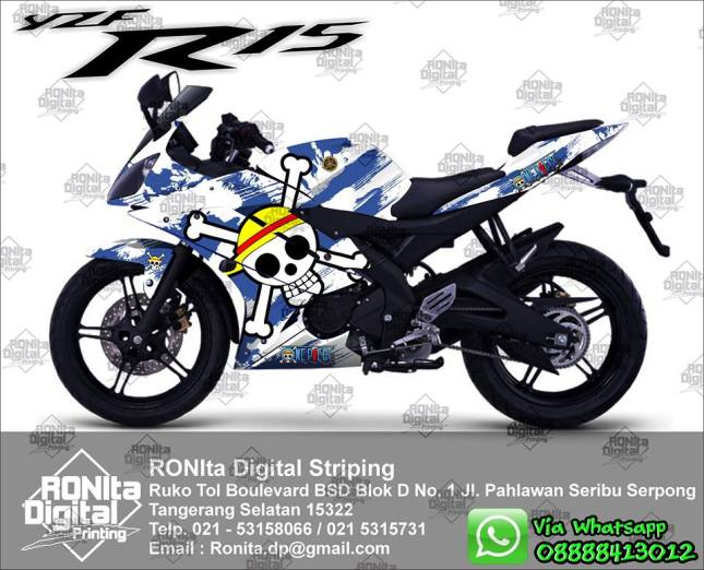 sticker striping moge yamaha r15