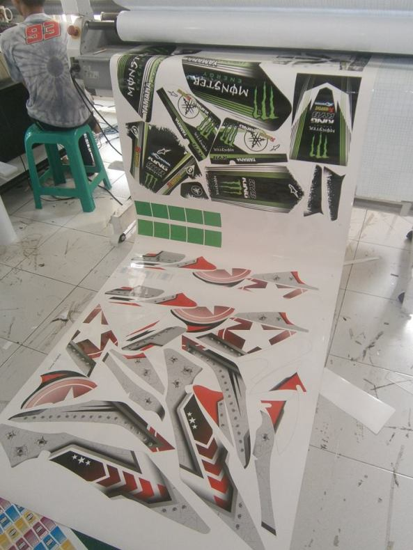 sticker striping satria 6