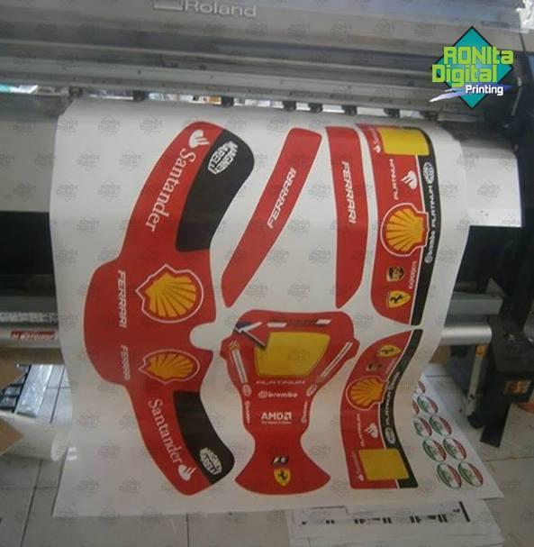 decal sticker untuk go kart 2