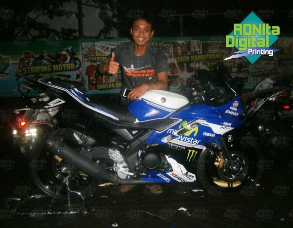 Yamaha R15 Motif movistar 2014