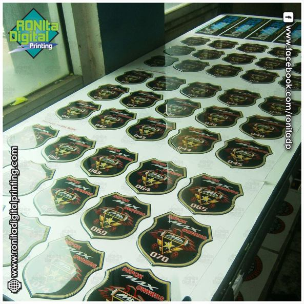 stiker timbul resin