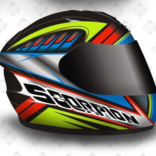 Design Helm design ronita digital printing