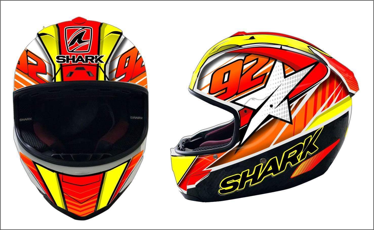 Design Helm design original untuk helm anda ronita digital printing